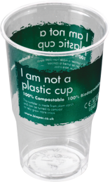 Compostable Biodegradable Pint Tumblers 1 x 960