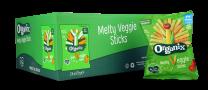 Organix Melty Veggie Sticks 24 by 15g