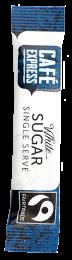 Fairtrade Cafe Express White Sugar Sticks