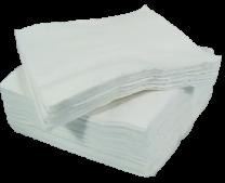33cm 2-Ply White Napkins 1 x 125