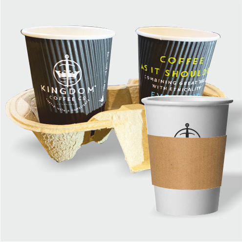Cup Tray & Sleeves