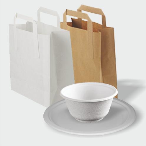 Plates, Bowls & Bags