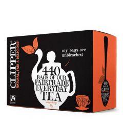 Clipper Fairtrade Blend One-Cup Tea 440 Teabags