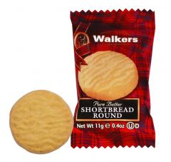 Walkers Mini Shortbread Round Biscuits