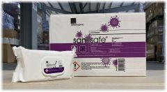 Sanisafe Anti-Bac Anti-Viral Wipes 10 x 100