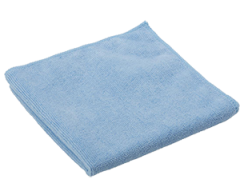 Blue Microfibre Cloths 1 x 5