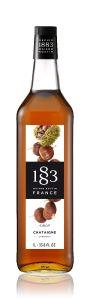 1883 Chestnut Syrup 1 x 1 Litre