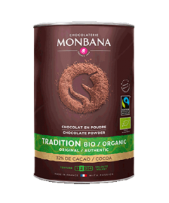 Fairtrade Organic Monbana Hot Chocolate 1kg