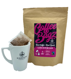 Fairtrade Colombian Coffee Bagz 30 x 8g