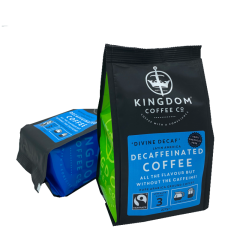 "Fairtrade ""Divine Decaf"" Decaffeinated Coffee - 227g"