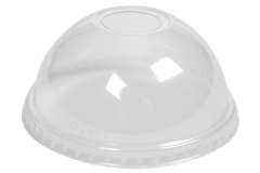 Clear Recyclable rPET Domed 12oz Lids 1 x 100