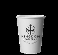 8oz Kingdom Economy Single Walled Cups 1000