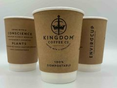 8oz Kingdom Compostable Double Wall EnviroCup 1 x 500
