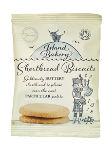 Island Bakery Organic Shortbread Biscuits 48 x 35g