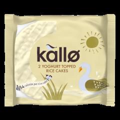 Kallo Yoghurt Topped Thick Rice Cakes 30 x 33g