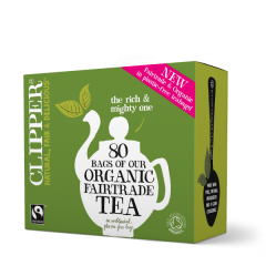 Clipper 1 x 80 Organic Fairtrade Everyday Tea