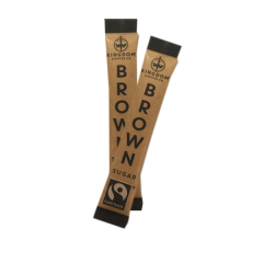 Kingdom Branded Fairtrade Brown Sugar Sticks