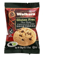Walkers Gluten-Free Choc Chip Shortbread 2 Pack x 60