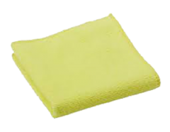 Yellow Microfibre Cloths 1 x 5