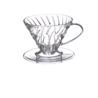 Hario Coffee Dripper V60 02 (Clear Plastic)