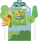 Organix Melty Veggie Sticks 24 by 15g