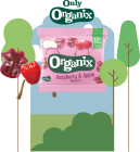 Organix Raspberry & Apple Moos 50 x 12g