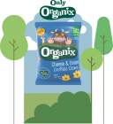 Organix Cheese & Onion Grufallo Claws 24 x 15g