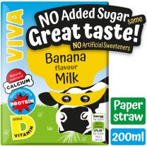 Banana Milkshake Cartons 27 x 200ml