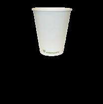 4oz White Compostable Espresso Cups 1 x 50