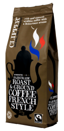 Clipper Fairtrade Organic French Style Coffee 227g