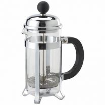 6 Cup Chrome Cafetiere