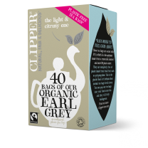 Clipper 1 x 40 Fairtrade Organic Earl Grey