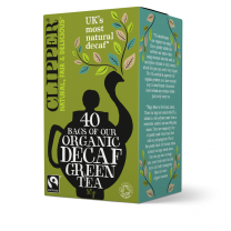 Clipper 1 x 40 Fairtrade Organic Decaf Green