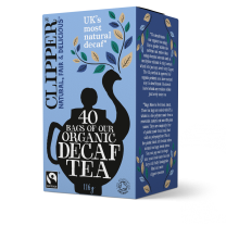 Clipper 1 x 40 Fairtrade Organic Decaf Teabags