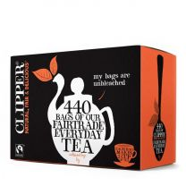 Clipper Fairtrade Blend One-Cup Tea 440 Teabags