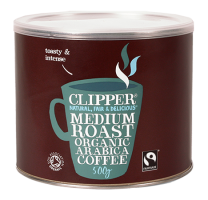 Clipper Fairtrade Organic Medium Roast Arabica 500g