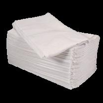 8 Fold 2-Ply White Napkins 1 x 2000