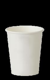 8oz Plain Single-Wall Paper Cups 1 x 1000