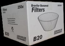 Bravilor B-series B20 Filter Papers
