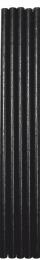 Black Compostable Straws 200x6mm - 1 x 250