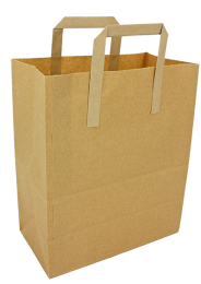 Brown Paper Lunch Bags 1 x 250