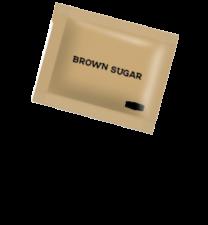 Brown Sugar Sachets 1 x 1000