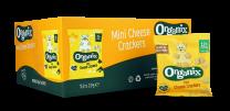 Organix Mini Cheese Crackers 50 x 20g