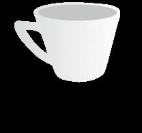 7oz Plain Cappuccino Cup
