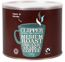 Clipper Fairtrade Blend Tea 100 Tagged Teabags