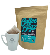 Fairtrade Decaff Coffee Bagz 30 x 8g