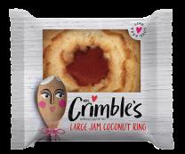 Mrs Crimble's Gluten Free Large Jam Coconut Ring