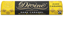 Divine - Caramel Dark Chocolate Bar Fairtrade