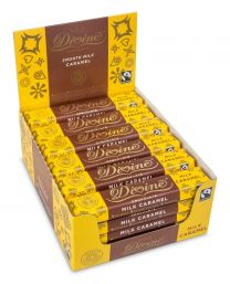 Divine - Milk & Caramel Chocolate Bar Fairtrade