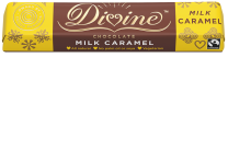 Divine - Milk & Caramel Chocolate Bar Fairtrade